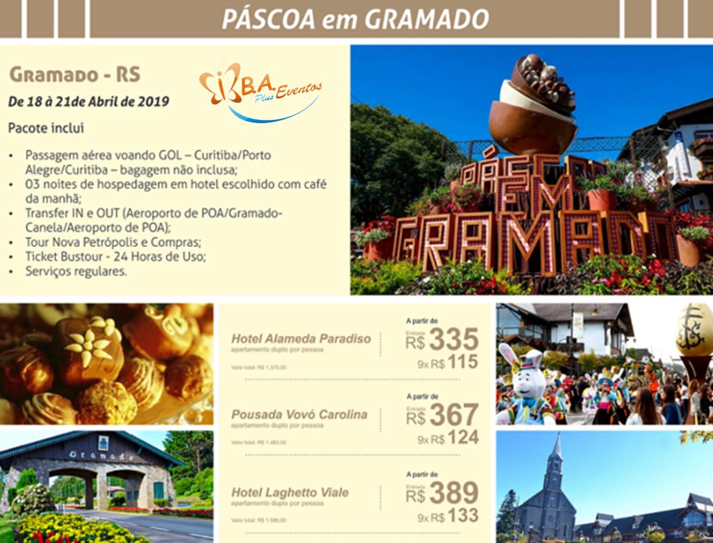 GRAMADO (PASCOA)